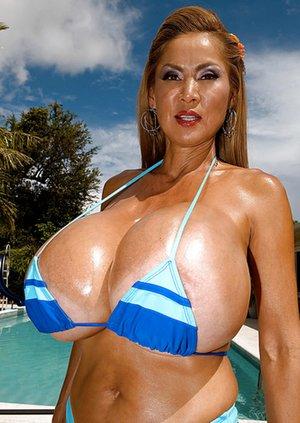 Fake Tits Asian Porn