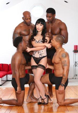 Interracial Gangbang Asian Porn